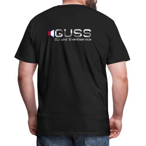 GUSS T-Shirt weiss - Männer Premium T-Shirt