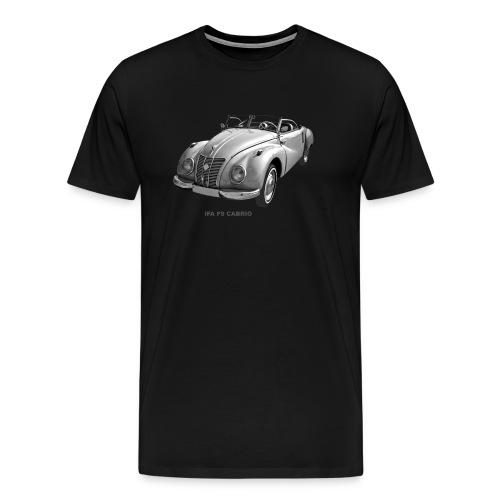 IFA F9 Cabrio DDR Zwickau - Männer Premium T-Shirt