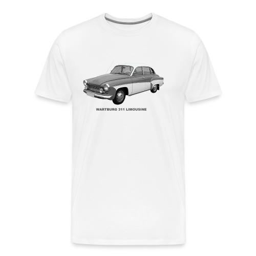 Wartburg 311 Limo DDR Eisenach  - Männer Premium T-Shirt