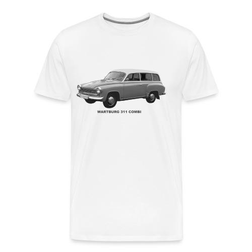 Wartburg 311 Combi DDR Eisenach - Männer Premium T-Shirt