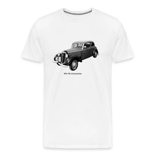 IFA F8 Limo DDR Zwickau - Männer Premium T-Shirt