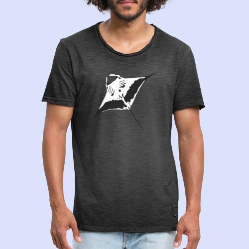 Männer Vintage T-Shirt mit Manta - Männer Vintage T-Shirt
