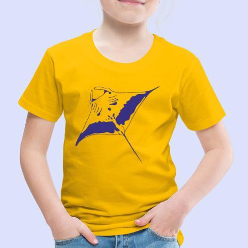 Kinder Premium T-Shirt mit Manta.darkblue - Kinder Premium T-Shirt