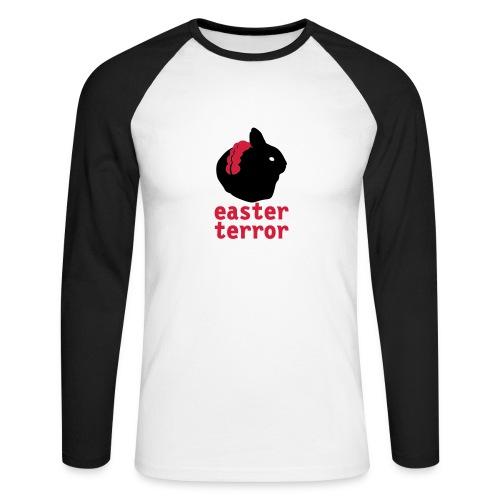 Pingouin Terror - T-shirt baseball manches longues Homme