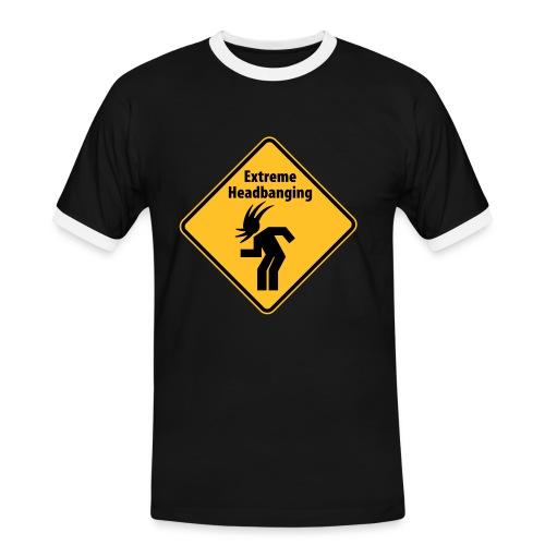 Koszulka męska z kontrastowymi wstawkami