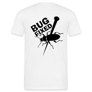 Bug white - T-shirt Homme