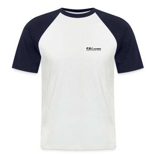 FSI Crime Bbg Front Back - Männer Baseball-T-Shirt