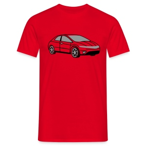 Civic (Red) - Men's T-Shirt