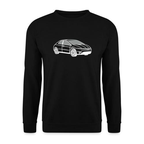 Civic (Black) - Men's Sweatshirt