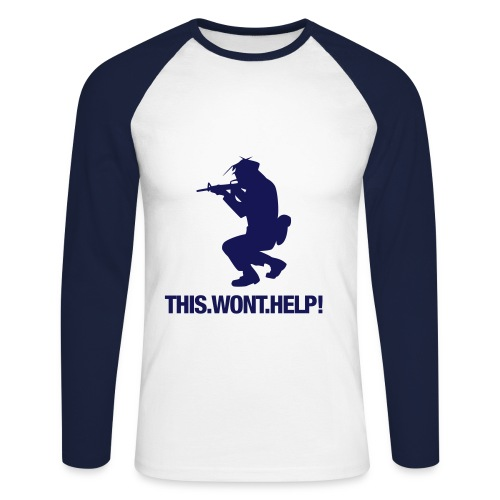 mazhe  - T-shirt baseball manches longues Homme