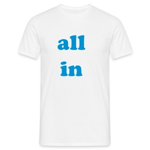 All-in blanc/bleu - T-shirt Homme