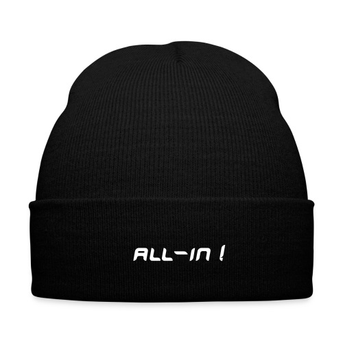 All-in !, bonnet noir - Bonnet d'hiver