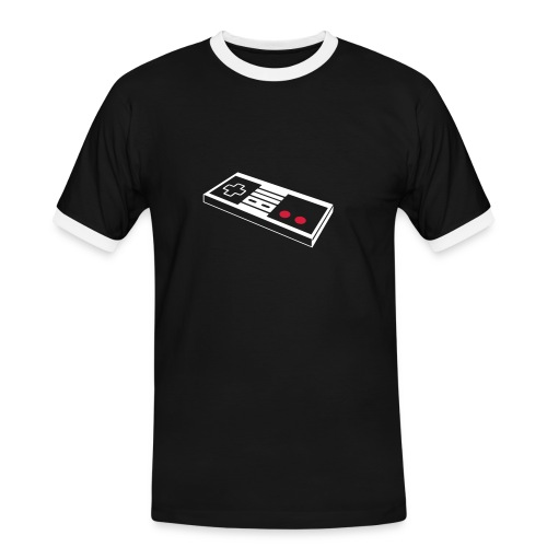 play oldschool - Männer Kontrast-T-Shirt