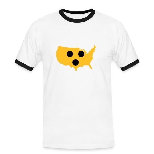 Blind America - Männer Kontrast-T-Shirt
