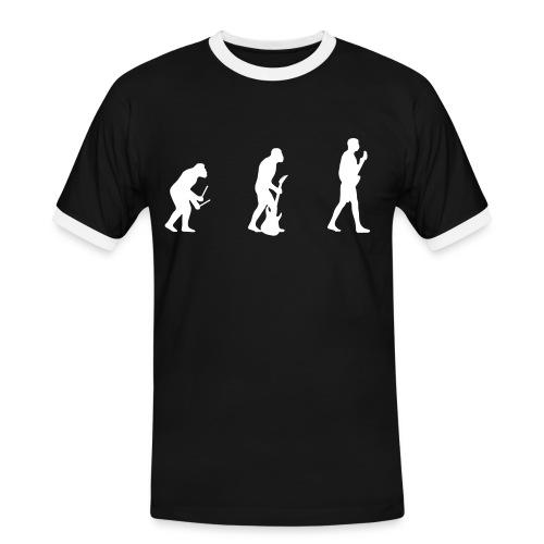 Hannes - Männer Kontrast-T-Shirt