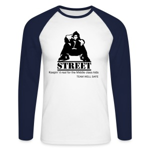 Team Well-safe Street L/S Tee - Men's Long Sleeve Baseball T-Shirt