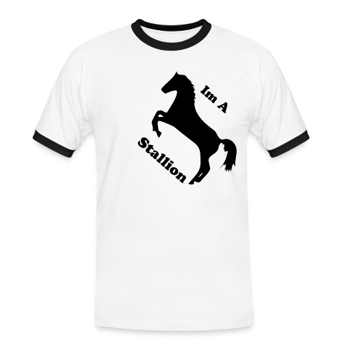 Im A Stallion - Men's Ringer Shirt