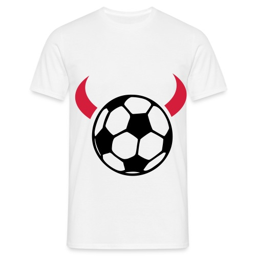 Football Devil T-Shirt - Men's T-Shirt