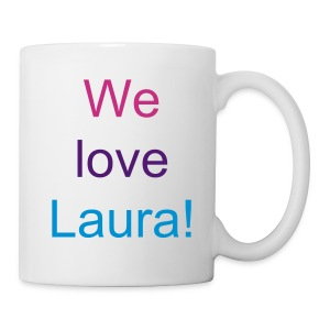 We Love Laura mug - Mug