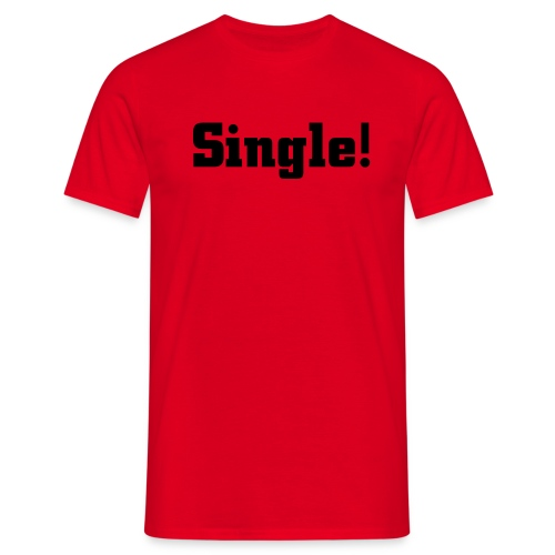Single Shirt - Männer T-Shirt