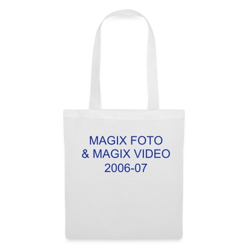 MAGIX FOTO SU CD E DVD 4.5 & MAGIX VIDEO 2006 - Borsa di stoffa