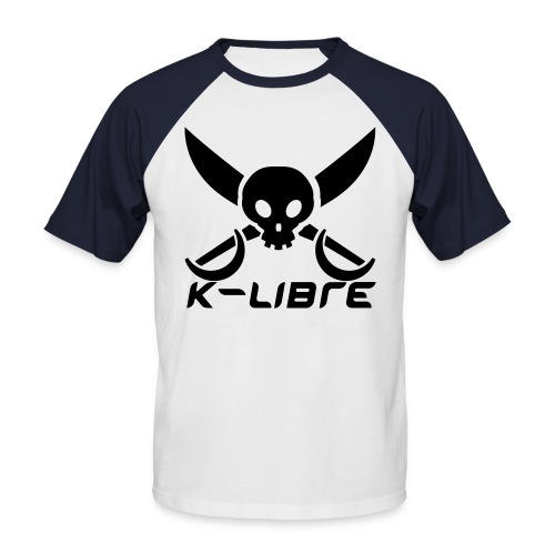 k-libre style - T-shirt baseball manches courtes Homme