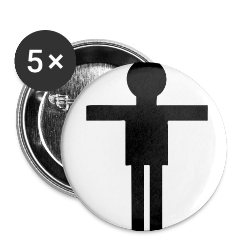 Man iLL Badge - Buttons small 1''/25 mm (5-pack)