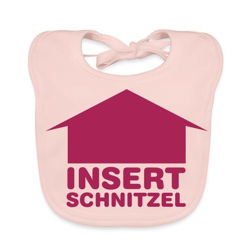 insert schnitzel - Bio-slabbetje voor baby's