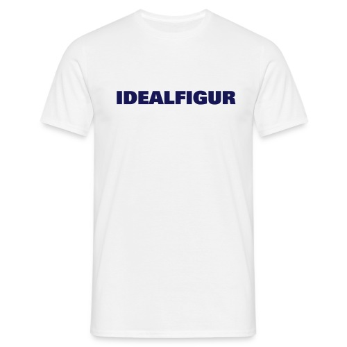 fun, Idealfigur, navy - Männer T-Shirt