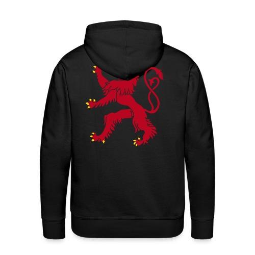 Roude Leiw - Sweat-shirt à capuche Premium pour hommes