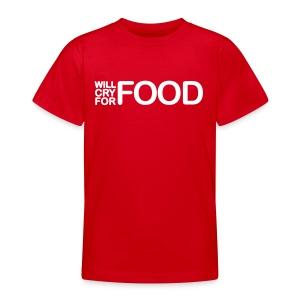 food - Teenager T-shirt