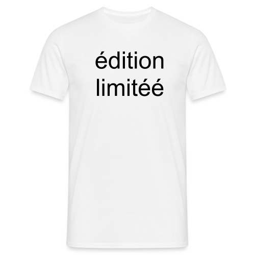 EDITION - T-shirt Homme