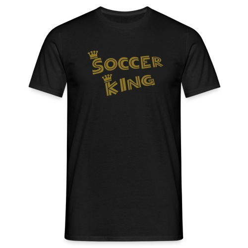 Soccer League, The King - T-shirt Homme