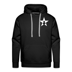 Star edition Kapu white - Männer Premium Hoodie