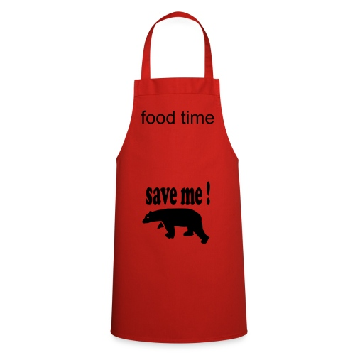 a red apron to cook in - Cooking Apron