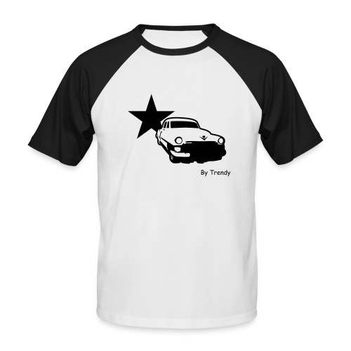 Trendy Old Car 2 - T-shirt baseball manches courtes Homme