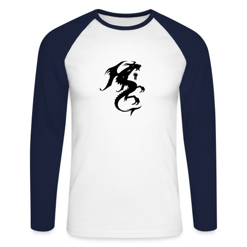 Men's Dragon Top - Men's Long Sleeve Baseball T-Shirt