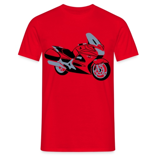 ST1300 (Red) - Men's T-Shirt