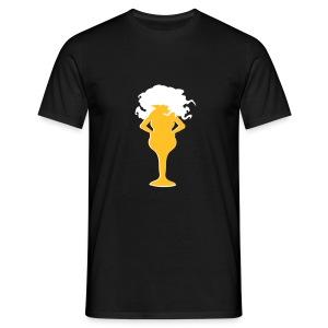 Bier-Shirt - Männer T-Shirt