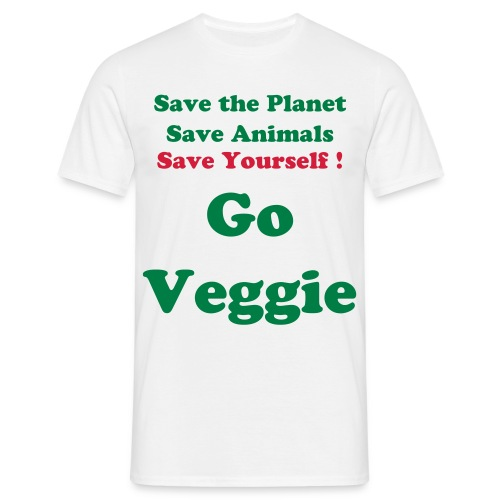 Go Veggie Tee - Men's T-Shirt