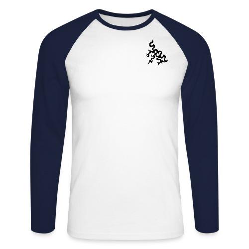 Genser - Langermet baseball-skjorte for menn