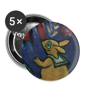 button hare - Buttons klein 25 mm