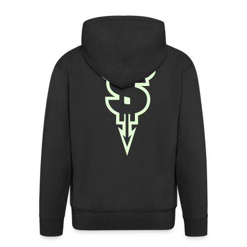 Evil Dollar - Miesten premium vetoketjullinen huppari