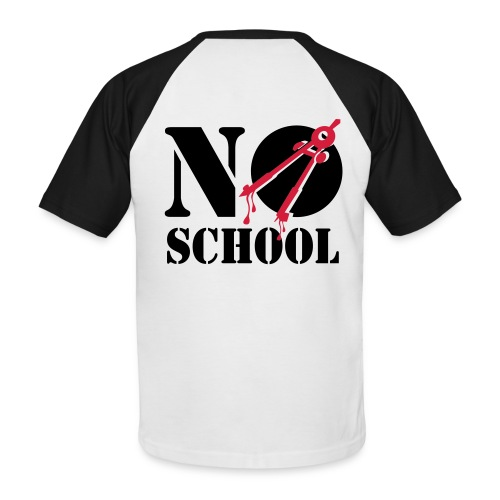 NO School - T-shirt baseball manches courtes Homme