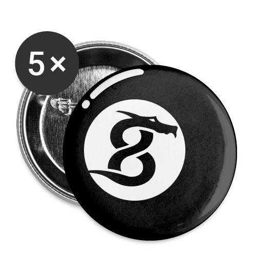 Buttons mittel 32 mm