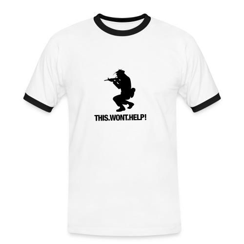 1 pose ton style!!! - T-shirt contrasté Homme