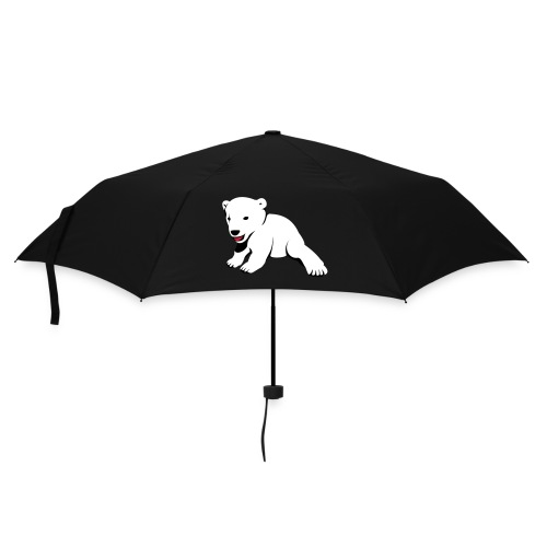 Bär auf Schirm - Regenschirm (klein)