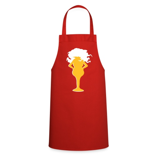 Blonde Grillschürze - Kochschürze