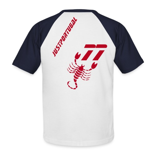 Just 77 Red - T-shirt baseball manches courtes Homme
