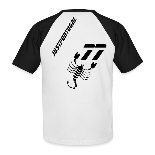 Just 77 Black - T-shirt baseball manches courtes Homme